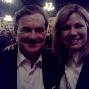 Kim & Company Kim & Hon. Jim Flaherty Class Act Diner Theatre